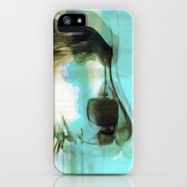 CURSIVE LUNGS iPhone Case