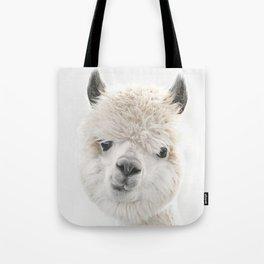 PEEKY ALPACA Tote Bag