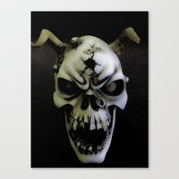bones Canvas Prints featuring Bones by Shalisa Photography