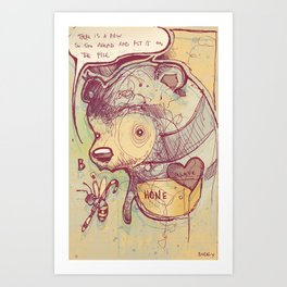 Paw paw Art Print