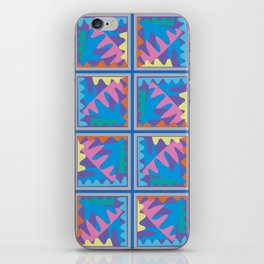 Mountain Puzzles Pastel iPhone Skin