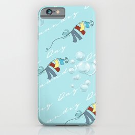 Vintage Laundry Day iPhone Case