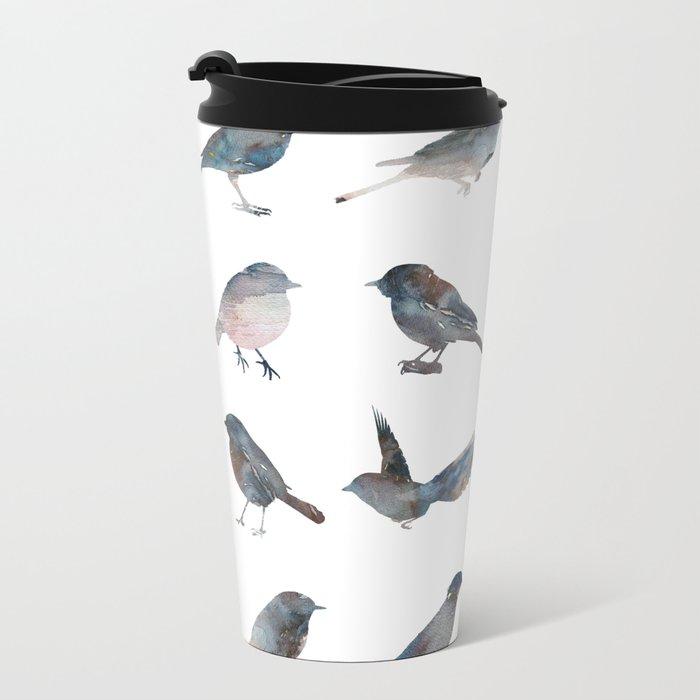 Sparrow Catalog Metal Travel Mug