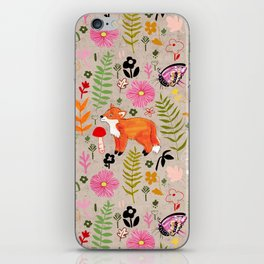 Woodland Fox iPhone Skin