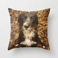 ruby Throw Pillows featuring Ruby by Alex Malyon