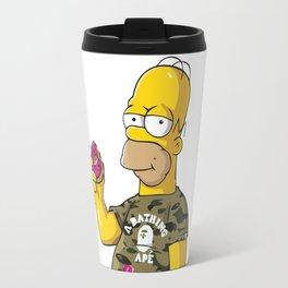homer simpson bape Travel Mug