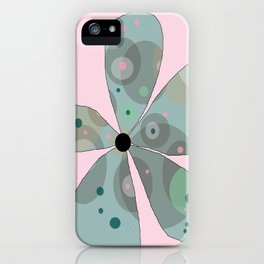 FLOWERY  ROSA / ORIGINAL DANISH DESIGN bykazandholly iPhone Case
