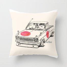 Crazy Car Art 0169 Throw Pillow