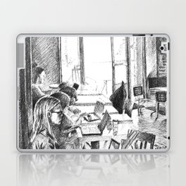 Find a Place to Sit Laptop & iPad Skin