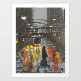CityWalk Art Print