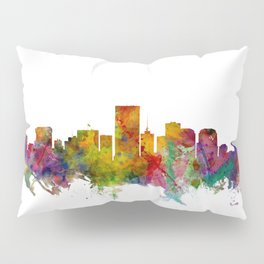 Richmond Virginia Skyline Pillow Sham