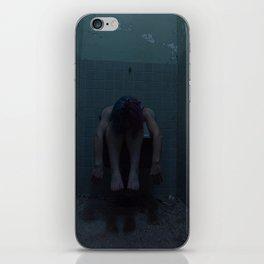 Feeling Dark Blue iPhone Skin