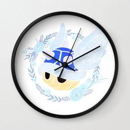 Beautiful Blue Wall Clock