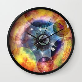 Parallel Universes Wall Clock