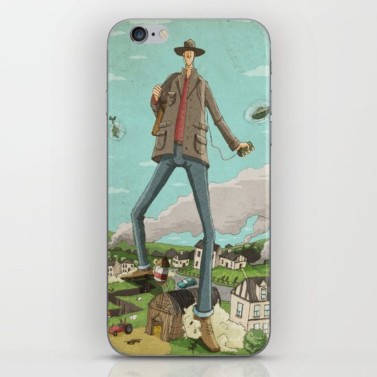 Tall iPhone & iPod Skin