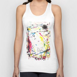 They Enjoy the Color Attack! Unisex Tank Top