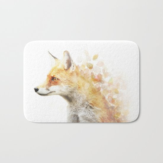 Winter Foxy #2 Bath Mat