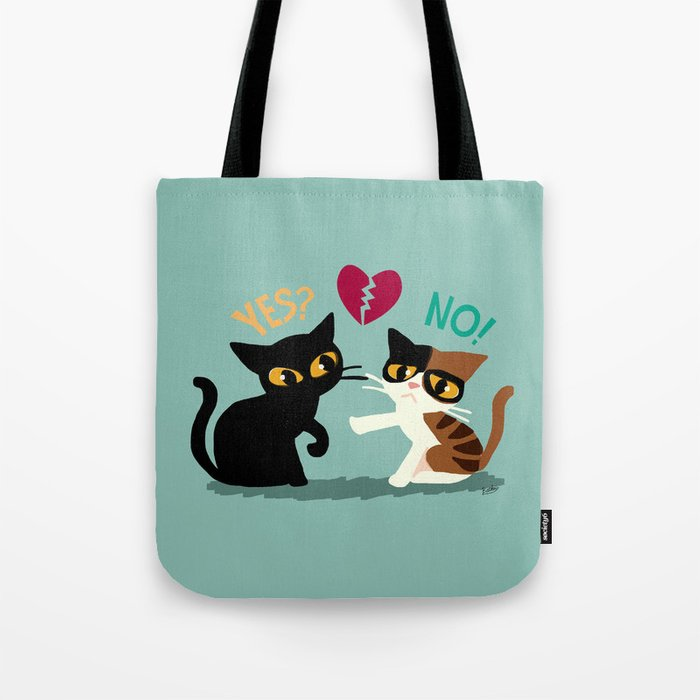 Yes or No Tote Bag