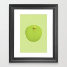 Apple 08 Framed Art Print