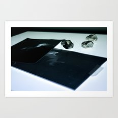 Examine Art Print