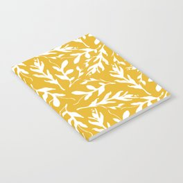 Mustard Leaves Notebook
