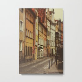 Colorful buildings Metal Print