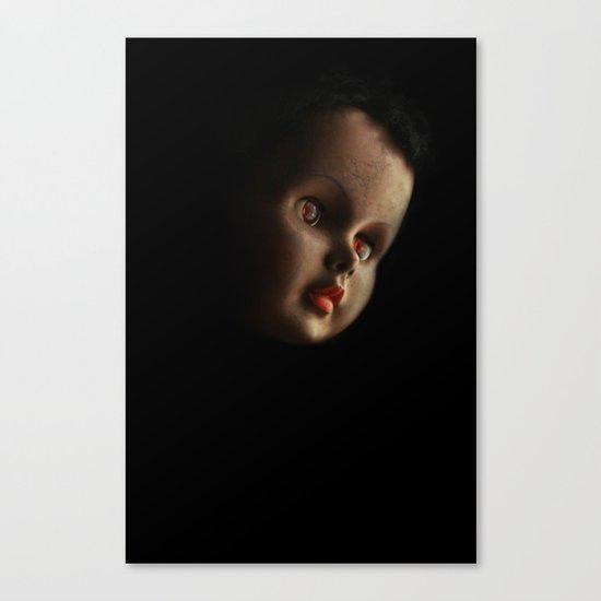 Doll head (original) Canvas Print