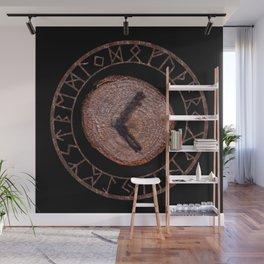 Kenaz elder futhark rune Vision, revelation, knowledge, creativity, inspiration, technical ability. Wall Mural