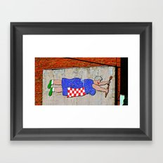 Grandma's Cookin' Framed Art Print