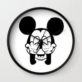 mickey mostrando o dedo Wall Clock