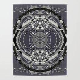 black and white I Poster