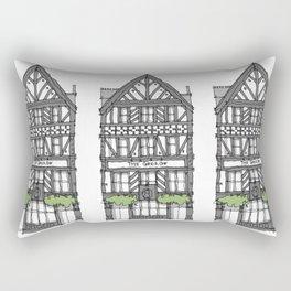 The George Pub London Rectangular Pillow