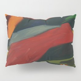 Lessons To Learn Abstract Landscape Pillow Sham