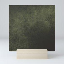 Old dark green Mini Art Print