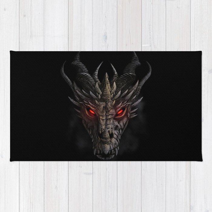 Red eyed dragon Rug