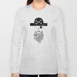 smug pirate Long Sleeve T-shirt