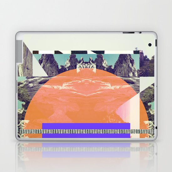 Ombre Mountains Laptop & iPad Skin
