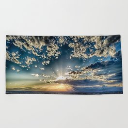 SHINE DOWN Beach Towel