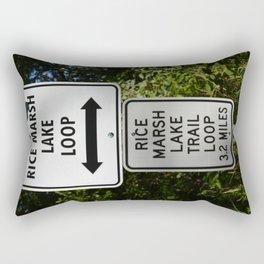 The Loop Rectangular Pillow