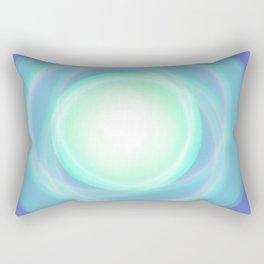 Blue sky boreal Rectangular Pillow