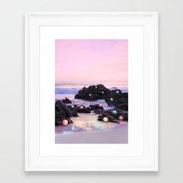 Puerto Escondido Framed Art Print