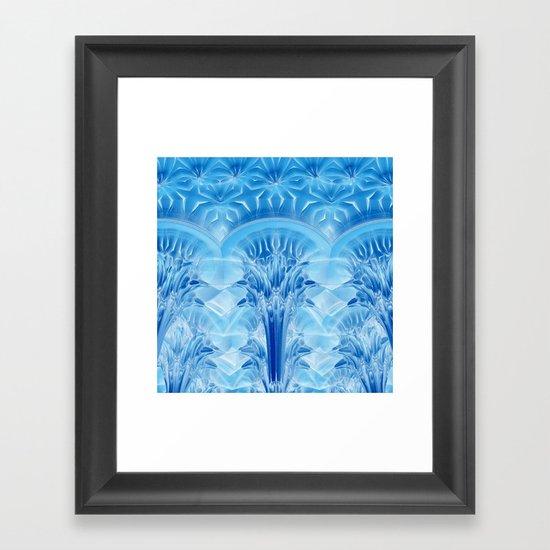 Ice Palace Framed Art Print