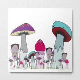 in the monster infested wood Metal Print
