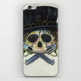"""Snake Eyes"" by KC Krimsin iPhone Skin"