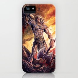 The Magic Warrior iPhone Case