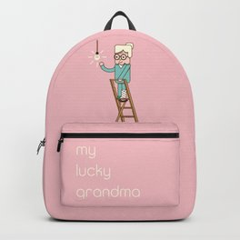 My lucky grandma Backpack
