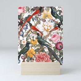 Floral and Birds XXXV Mini Art Print