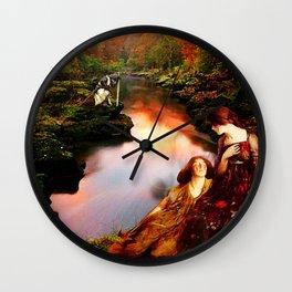 Before Night Falls Wall Clock