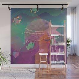 Mermaid II - Bohemian Starfish Headpiece Wall Mural