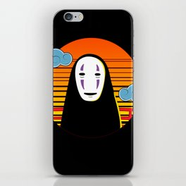 No Face a Lonely Spirit iPhone Skin